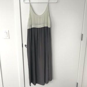 Aritzia Wilfred Silk Midi Dress